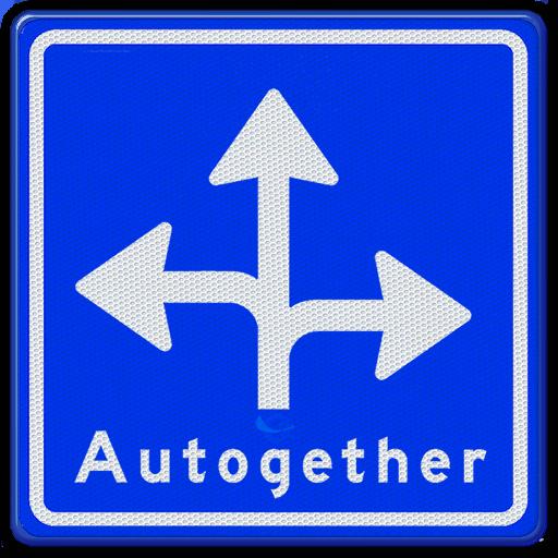 Veelrichtings verkeersbord